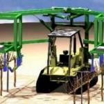 Обрезка и формировка винограда роботами